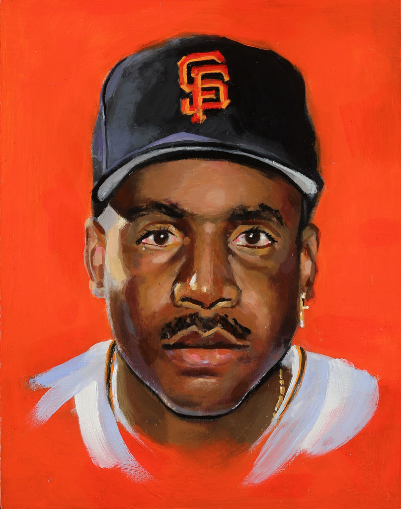 Barry Bonds x Brandon Hurley Arts