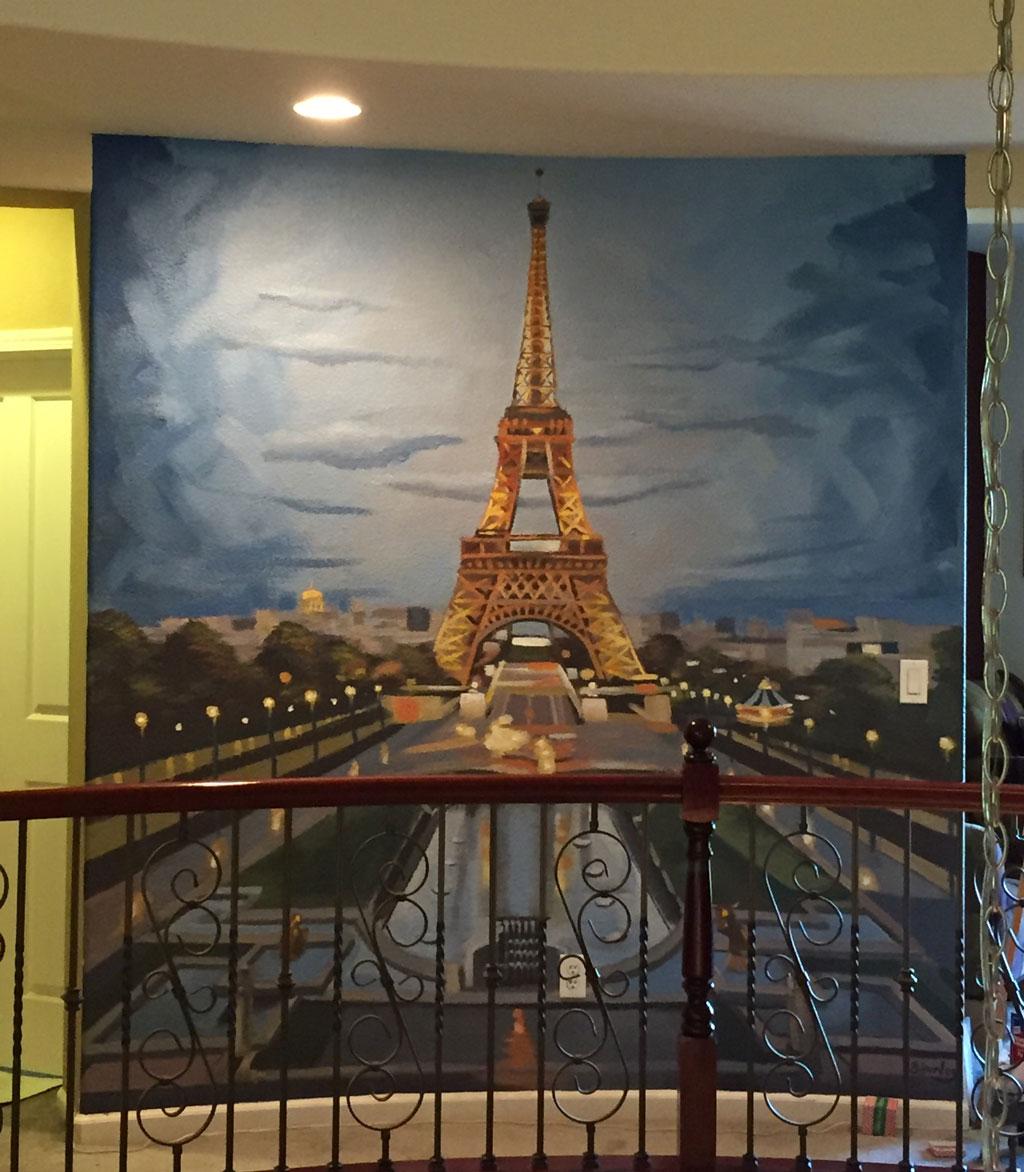 Paris Mural x Brandon Hurley Arts