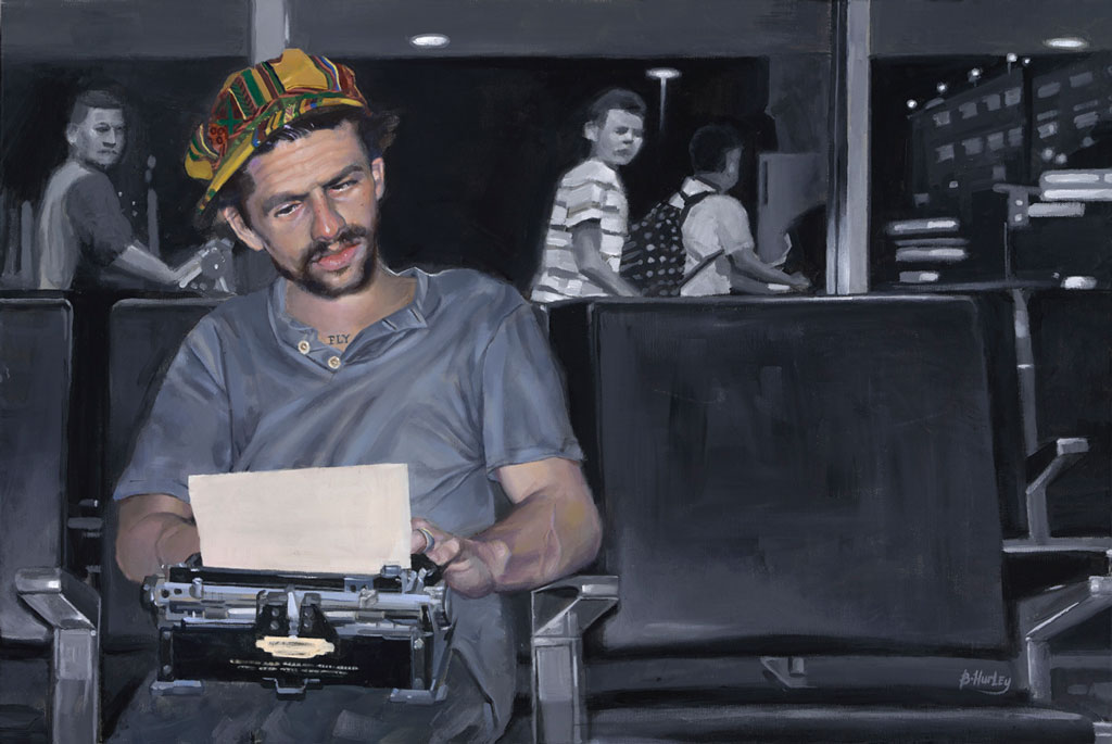 The Wordsmith x Brandon Hurley Arts